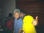 rOobin Golestan DJing in Bejing on the night of my arrival